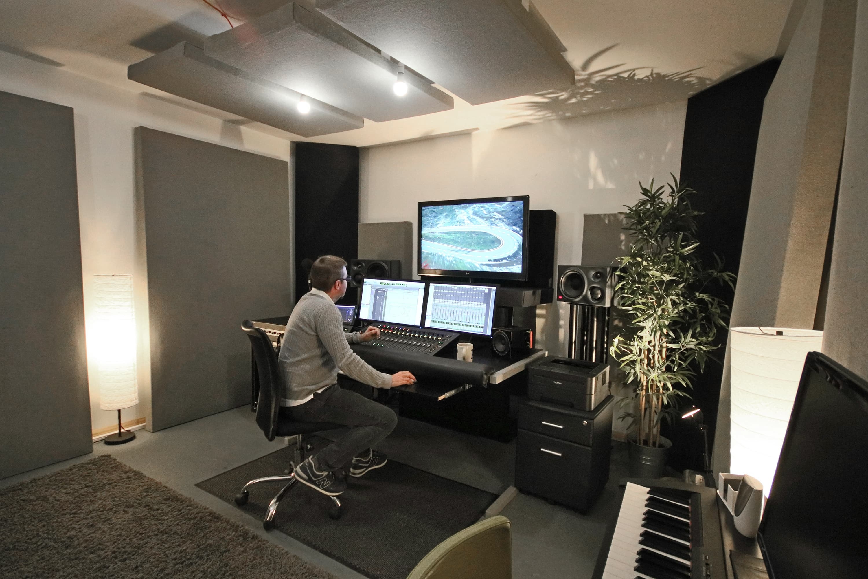 Music Studio for Sound Design East London