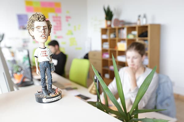 coworking space with napolean dynamite