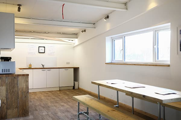 coworking kitchen