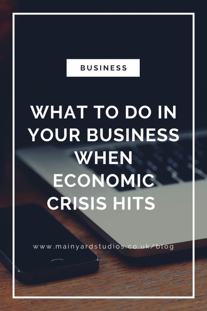 what to do in an economic crisis