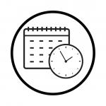 Calendar Clock Icons