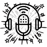 Podcast Microphone and headphones icon