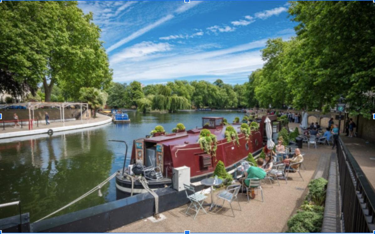 top canal spots london