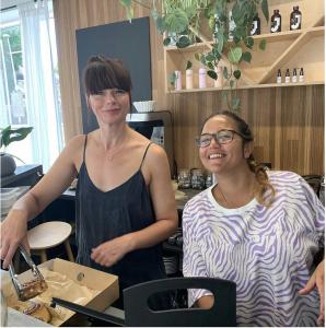 Katie Stockdale - Owner of Juno, wellness space and cafe in Leytonstone